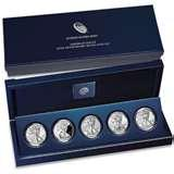 American Eagle 25th Anniversary Silver Coin Set Price images