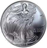 Silver Eagle Bullion Coin Value