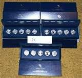 images of American Eagle 25th Anniversary Silver Coin Set Price