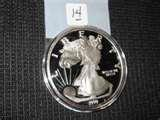 pictures of Silver Eagle Coin One Pound