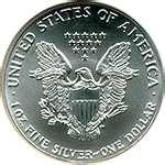 American Eagle Silver Dollar 1992 Value images