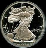 Silver Eagle Coin One Pound