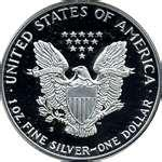 American Eagle Silver Dollar 1992 Value pictures