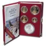 American Eagle 10th Anniversary Silver Coin Set