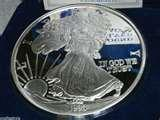 Silver Eagle Coin One Pound images