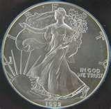 pictures of Eagle Silver Dollar Mintage
