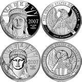 images of American Eagle 10th Anniversary Silver Coin Set
