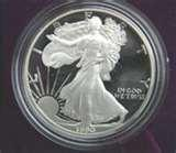 1990 American Eagle Silver Dollar Proof images