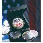 2000 Eagle Silver Dollar Full Color images