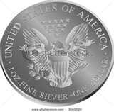 photos of Eagle Silver Dollar Coins