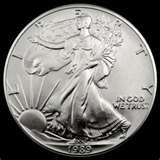 Silver Eagle Coin Troy Ounce pictures