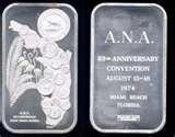 images of One Silver Eagle Coin 1974