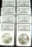 images of Eagle Silver Dollar Values