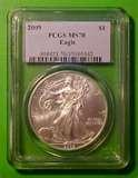 Silver Eagle Coin Grading images