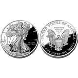 images of Eagle Silver Dollar Price