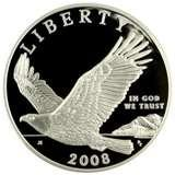 pictures of 2008 Eagle Silver Dollar Proof