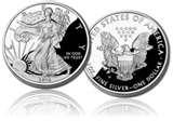 pictures of 2010 American Eagle Silver Proof Coin