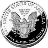 2010 American Eagle Silver Proof Coin pictures