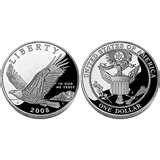 2008 Eagle Silver Dollar Proof pictures