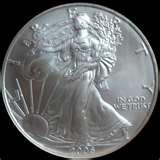 Silver Eagle Coin Rings images