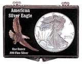 images of Silver Eagle Coin Flips