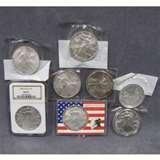 photos of 2001 American Eagle Silver Dollar In Full Color