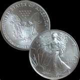 Silver Eagle Coin Rings pictures