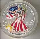 1999 American Eagle Silver Dollar Colorized photos