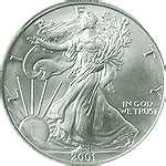 1993 American Eagle Silver Dollar Value pictures