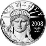 photos of 2008 American Eagle Silver Proof Coin