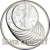 photos of Silver Eagle Coin Rolls For Sale