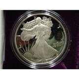 American Eagle Silver Dollar Proof 1986