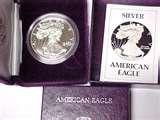 photos of American Eagle Silver Dollar Proof 1986