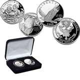 Eagle Silver Dollar Proof Coins images