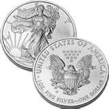 American Eagle Silver Dollar 1991 pictures
