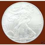 images of Silver Eagle Coin Tube