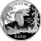 images of American Eagle Silver Dollar 1998 Value