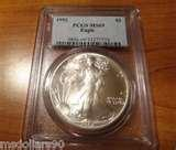 pictures of Silver Eagle Coin Pcgs