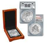 images of 2009 Silver Eagle Coin Ms70