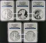 pictures of 2011 Silver Eagle Coin Ms70