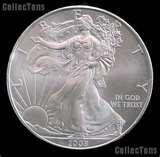 pictures of 1997 American Eagle Silver Dollar Value
