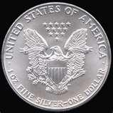 images of Silver Eagle Coin Diameter