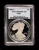 images of 2007 American Eagle Silver Proof Coin