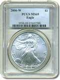 2009 Eagle Silver Dollar Ms69 images