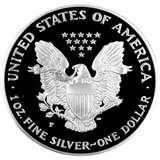 photos of 1996 Silver Eagle Coin Prices