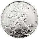 photos of Silver Eagle Coin 1992