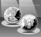 images of 2011 American Eagle Silver Proof Coins
