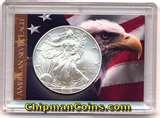Air Tight Silver Eagle Coin Holders