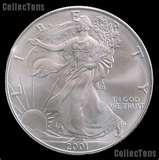 Silver Eagle Coin 2001 pictures