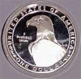 Silver Eagle Coin Diameter pictures